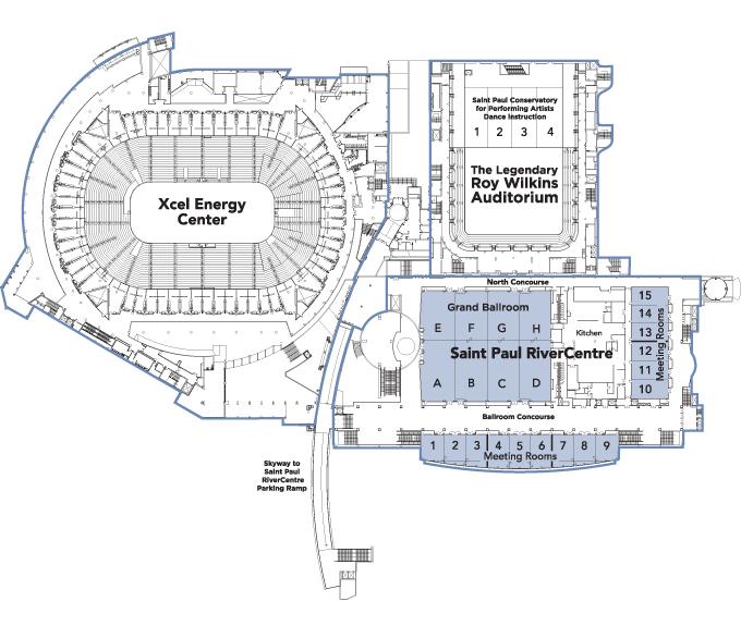 minneapolis convention center floor plan – Meze Blog